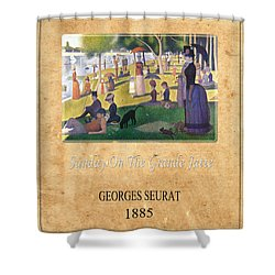 Georges Seurat 2 Shower Curtain by Andrew Fare