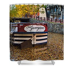 Georgetown Barge Shower Curtain