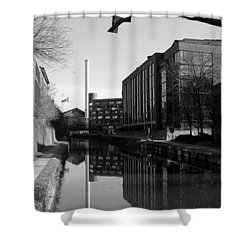 Georgetown - Canal Reflections 2 Shower Curtain