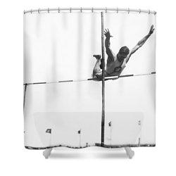 Georgetown Decathlon Star Shower Curtain