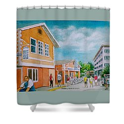 Georgetown Grand Cayman Shower Curtain