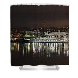 Georgetown Waterfront Shower Curtain