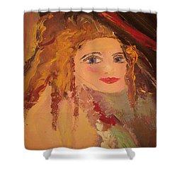 Georgiana Shower Curtain by Judith Desrosiers