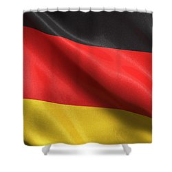 Germany Flag Shower Curtain by Carsten Reisinger