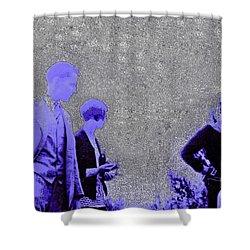 Gertrude Fashion 1920s Shower Curtain by First Star Art