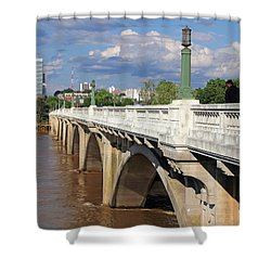 Gervais Street Bridge 1 Shower Curtain