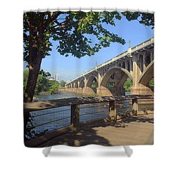 Gervais Street Bridge 5 22 A Shower Curtain