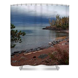 Get Lost In Paradise Shower Curtain by James Peterson