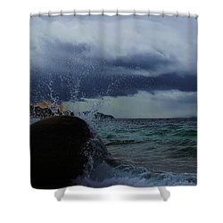 Get Splashed Shower Curtain