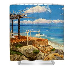 Getaway Shower Curtain
