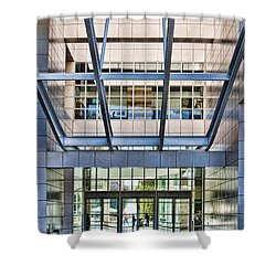 Getty Panes And Frames Shower Curtain