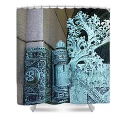 Getty Tomb Detail Shower Curtain