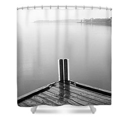 Shower Curtain featuring the photograph Ghost by Brian Duram