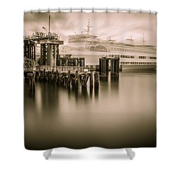 Ghost Ferry Shower Curtain