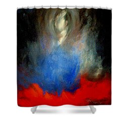 Ghost Shower Curtain by Lisa Kaiser