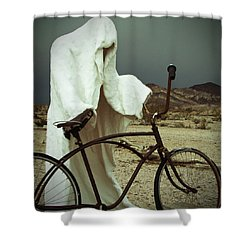 Ghost Rider Shower Curtain by Marcia Socolik