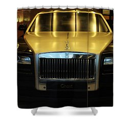 Rolls Royce Ghost Shower Curtain