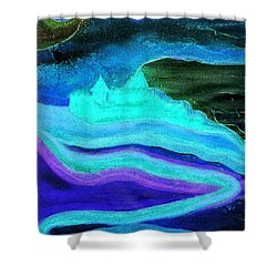 Ghostly Castle By Jrr Shower Curtain by First Star Art
