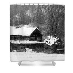 Ghosts Of Winters Past Shower Curtain