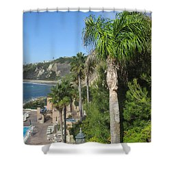 Giant Palm Shower Curtain