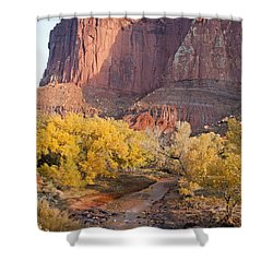 Gifford Farm Capitol Reef National Park Shower Curtain