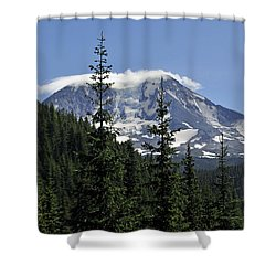 Gifford Pinchot National Forest And Mt. Adams Shower Curtain