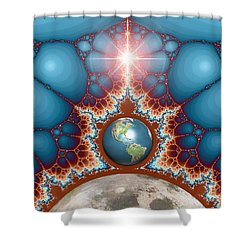 Gift From God Shower Curtain by Phil Perkins