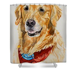 Gift Of Gold Shower Curtain by Susan Herber