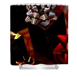 Shower Curtain featuring the photograph Gifts by Linda Shafer