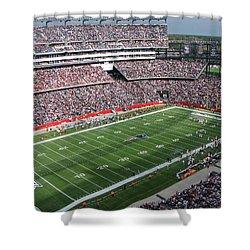 Gillette Stadium Shower Curtain