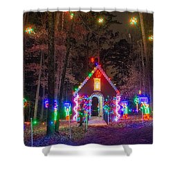 Ginger Bread House Shower Curtain