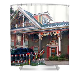 Gingerbread House - Metairie La Shower Curtain