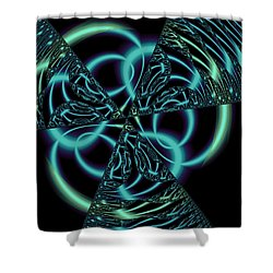 Shower Curtain featuring the digital art Gingezel 1 The Limit by Judi Suni Hall