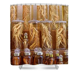 Ginseng Shower Curtain