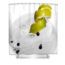 Gintonic Detail Shower Curtain