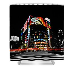 Ginza At Night Shower Curtain