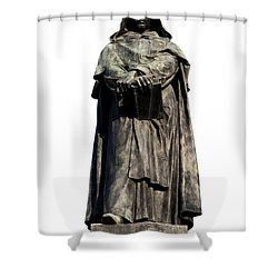Giordano Bruno Shower Curtain