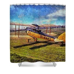 Gipsy Moth Shower Curtain