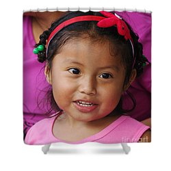 girl from Panama 2 Shower Curtain
