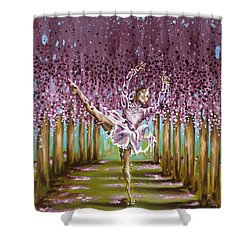 Blossom Shower Curtain by Karina Llergo