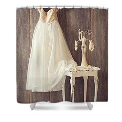 Girl's Bedroom Shower Curtain by Amanda Elwell