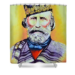 Giuseppe Garibaldi Shower Curtain