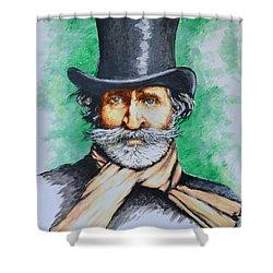 Giuseppe Verdi Shower Curtain