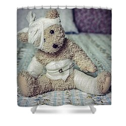 Give Me Some Comfort Shower Curtain by Joana Kruse