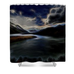 Glacial Light 1 Shower Curtain by William Horden