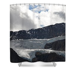 Glacial Mountain Shower Curtain