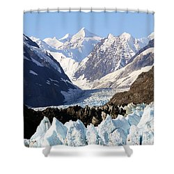 Shower Curtain featuring the photograph Glacier Bay Alaska by Sonya Lang