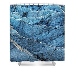 Glacier Blue Shower Curtain