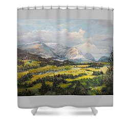Glacier Splendor Shower Curtain