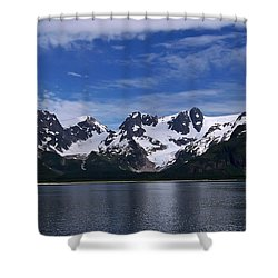 Glacier View Shower Curtain